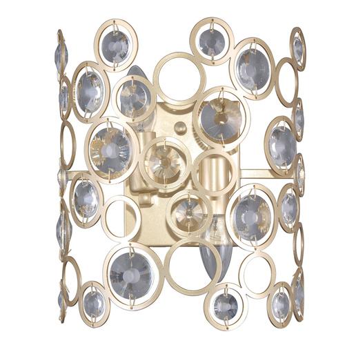Moderne goldene Wandleuchte Nardo E14 2-Birne
