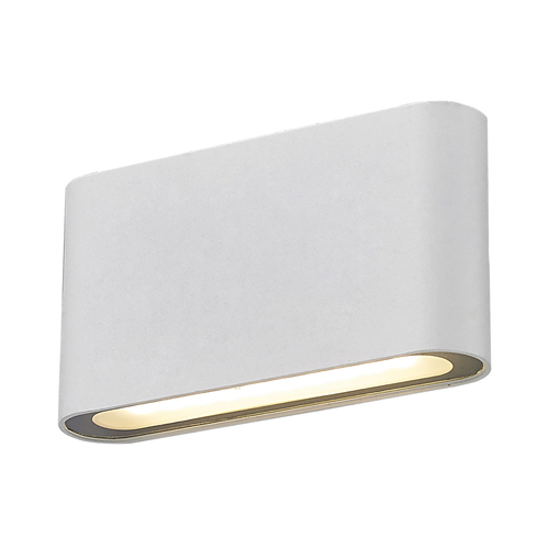 Moderne weiße Ricky LED Wandleuchte