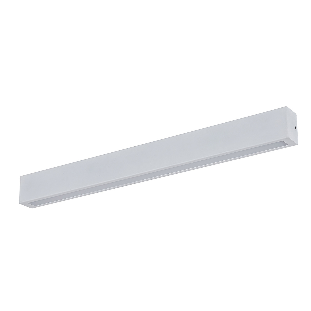 Weiße moderne Wandleuchte Thiago LED IP 44