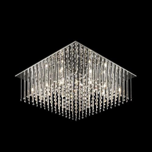 Klassische 12-Punkt Angel G4 Kristall Deckenleuchte