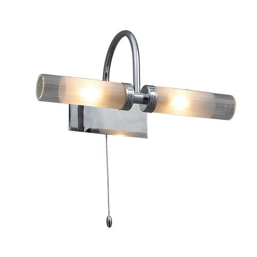 Moderne Badezimmer Wandleuchte Santos G9 2-Birne