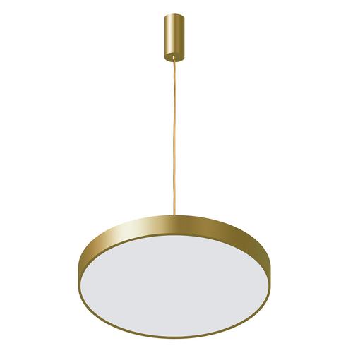 Golden Orbital LED Pendelleuchte