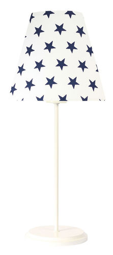 LED Schreibtischlampe Ombrello 60W E27 50cm dunkelblaue Sterne