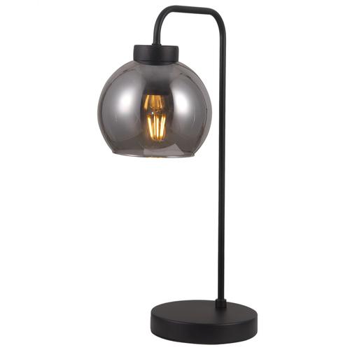 Schwarze Poggi E27 Schreibtischlampe