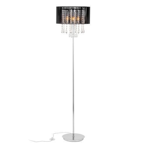 Schwarze Stehlampe Essence E14 3-Birne