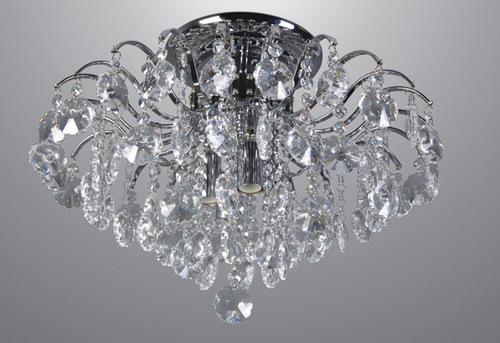 Klassischer 4-Punkt Firenza Crystals Plafond