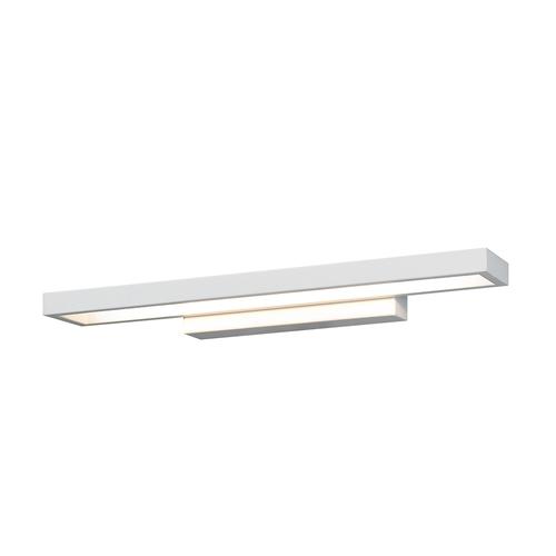 Weiße moderne Muari LED Wandleuchte