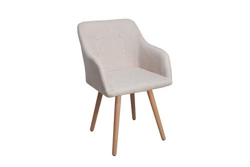 INVICTA SCANDINAVIA beige Stuhl