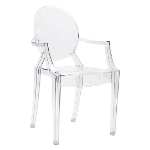 LOUIS transparenter Stuhl - Polycarbonat