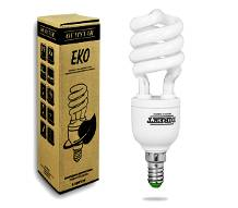 Energiesparlampe OEMSTAR S 15W E27 2700K