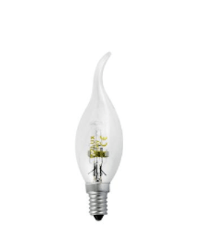 Halogenlampe Polux F35 42W E14