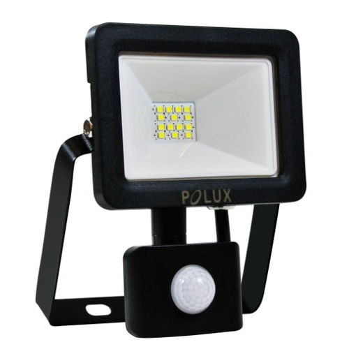 LED Projektor POLUX 10W IP65 Sensor schwarz