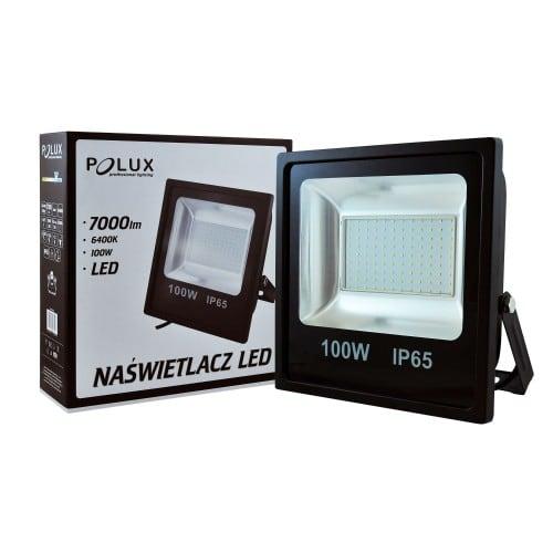 Projektor LED POLUX 100W IP65 schwarz