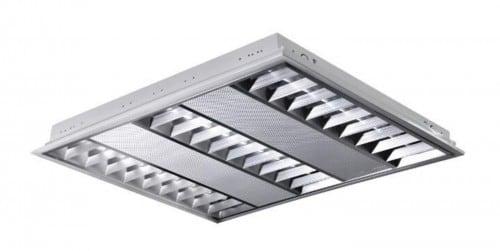 Polierte LED-Einbauleuchte POLUX ProBUS M06A39KADW 60x60