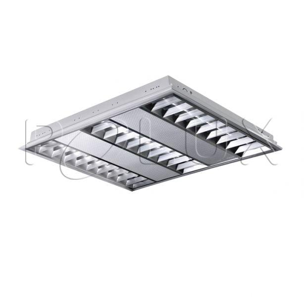 Aufputz LED Raster LED Polx ProBUS M06A39KMDW 60x60