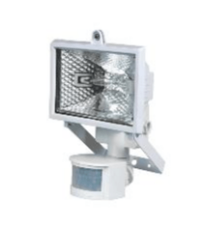 POLUX PH78WSR Halogenprojektor mit weißem Sensor