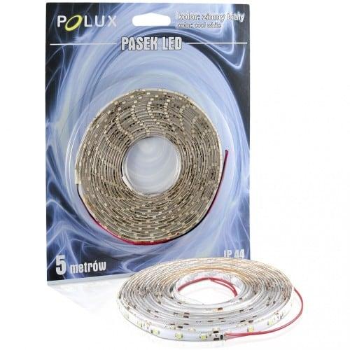 Polux LED-Streifen 5 m IP44 kaltweiße Farbe 1000 lm 6500 K