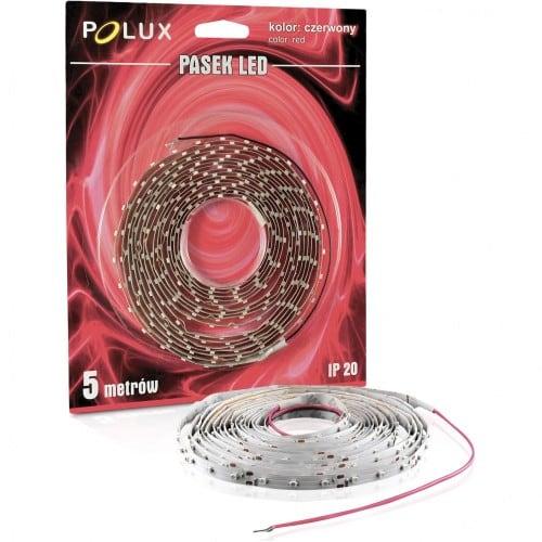 Polux LED Streifen 5m Lichtfarbe rot IP20
