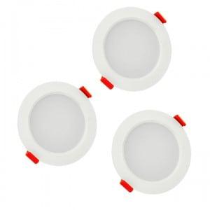 POLUX MIRO IO8XWWWH3-280 LED-Leuchten 3in1 weiß 3er Pack small 1