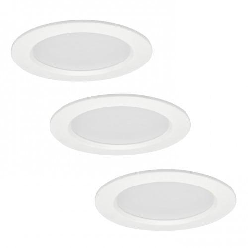 POLUX MIRO IO8XWWWH3-280 LED-Leuchten 3in1 weiß 3er Pack