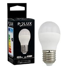 LED POLUX G45 E27 1: 1 SMDWW 480lm Keramikmilchbirne