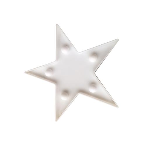 Star Plastic Small Led 2 * Aa