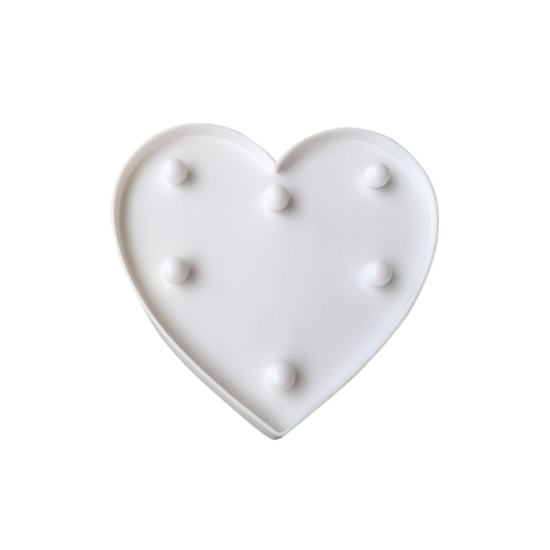 Kunststoff geführtes Herz