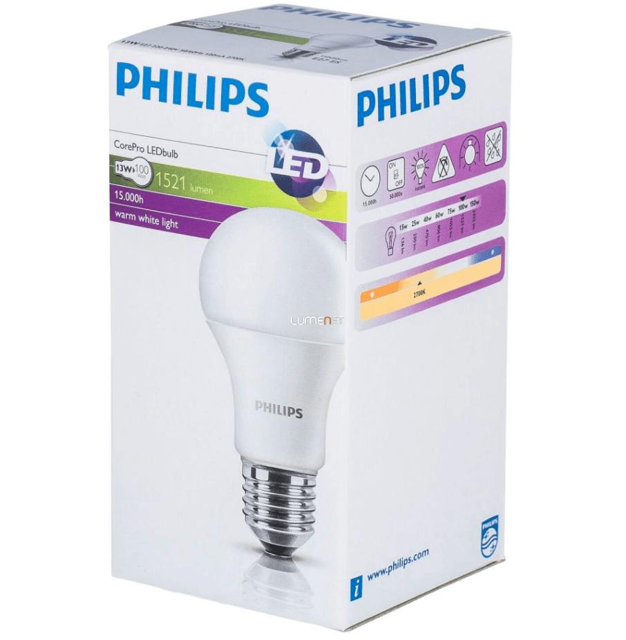 LED PHILIPS 13,5 W Leuchtmittel E27 1521lm CorePro
