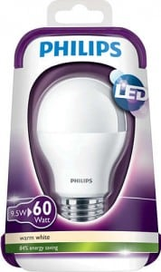 LED Birne PHILIPS 9W 806 lm small 0