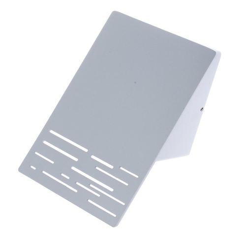 Fassadenleuchte Linie 10 W LED Weiß IP44