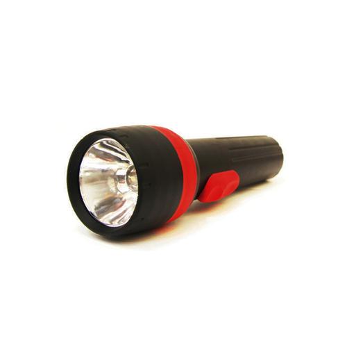 1 LED schwarze Taschenlampe