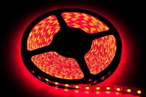 2,5 m 60 LED-Band. 12 W. Farbe: Rot. Ip20