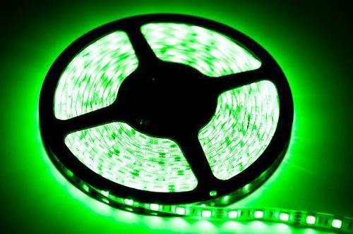 60 LED 24 W Streifen. Grüne Farbe. Ip65. (5 Meter) IP65