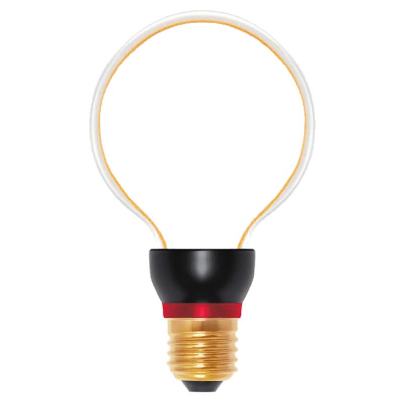 Dekorative LED Birne ART Globe, 8 W, E27