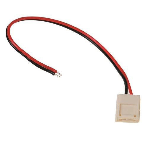 LED 8mm Stecker. Einseitige Verbindung.