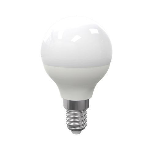 LED-Lampe 7 W E14 G45 Kugel. Farbe: Kalt
